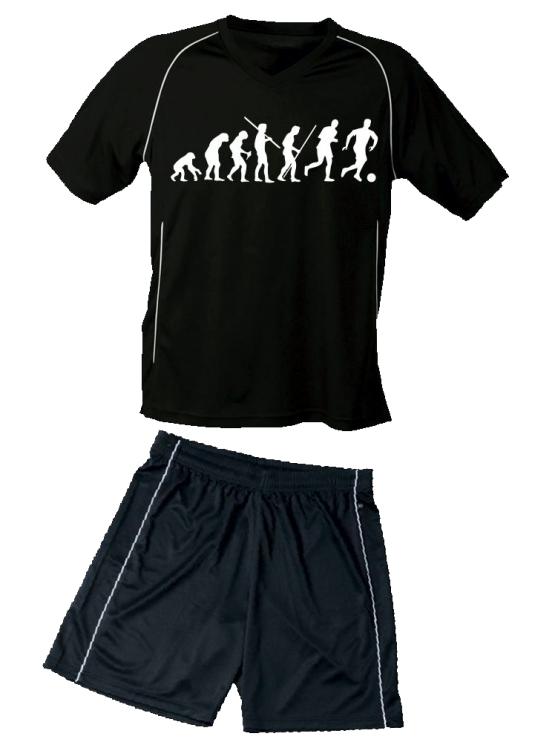TRIKOT SET Fußball Evolution Kinder Fußball Trikot + Hose