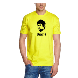 BÄM t-shirt BRUCE LEE Bäm in your face BRUCE LEE t-shirt