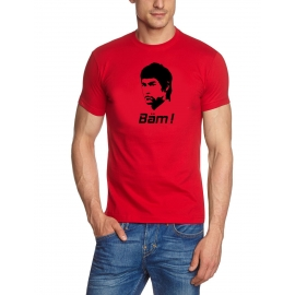 Bäm T-Shirt BÄM in your face Bruce Lee t-shirt