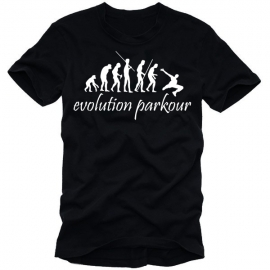 Parkour evolution T-SHIRT S M L XL XXL XXXL