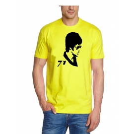 BRUCE LEE 71  t-shirt gelb